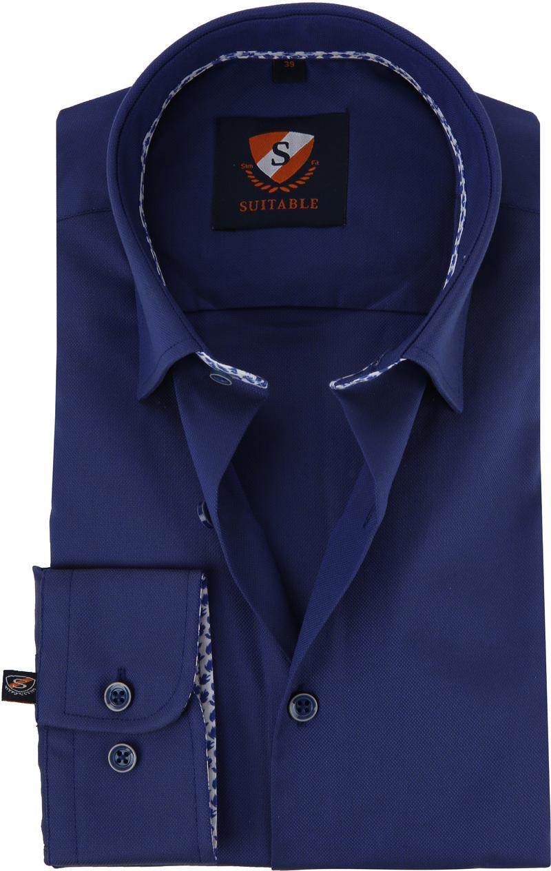 Suitable Shirt HBD Leaf Royal Navy photo 0