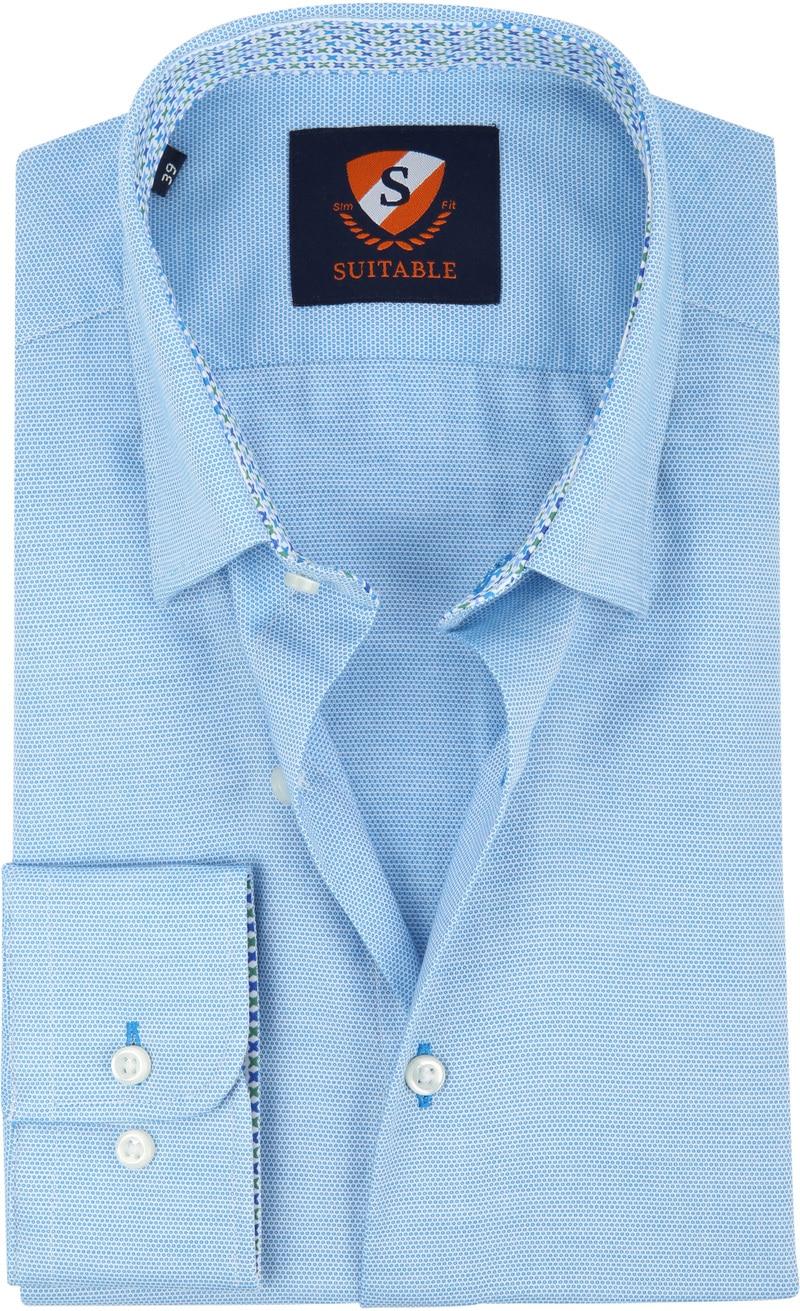 Suitable Shirt HBD Wesley Light Blue photo 0