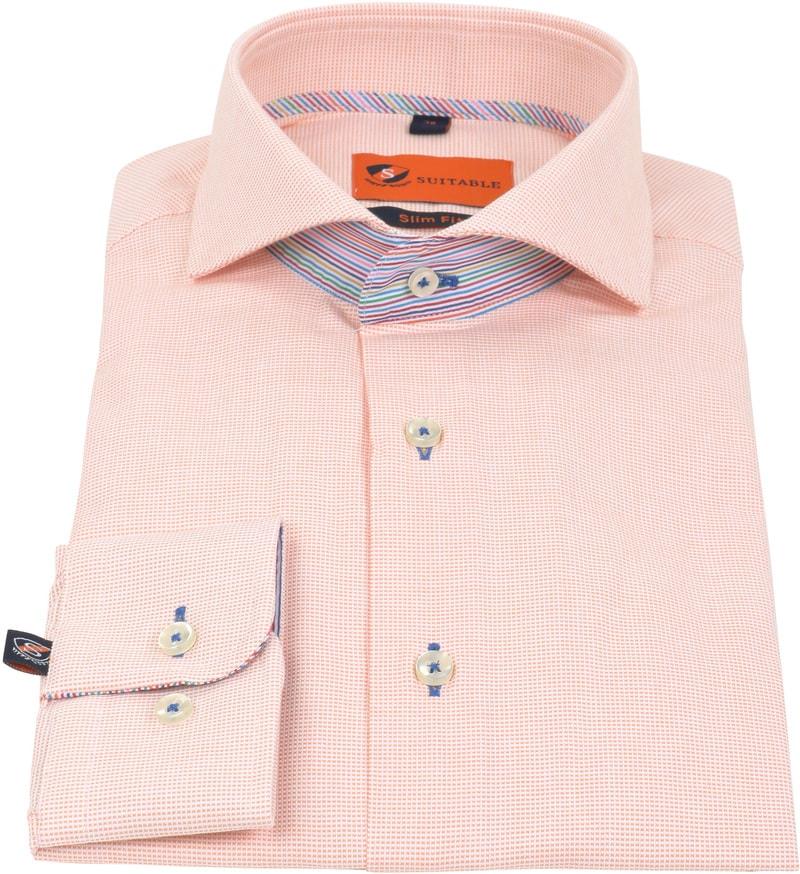 Suitable Shirt Pinpoint Orange 174-3 photo 2