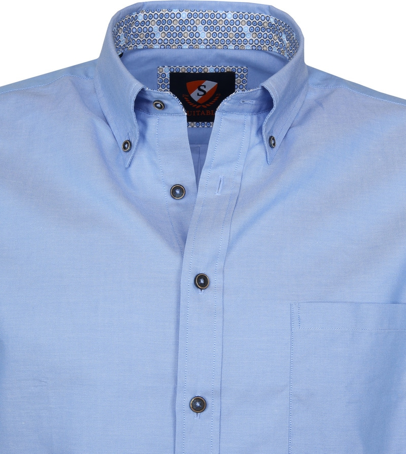 Suitable Shirt Wolf Light Blue photo 2