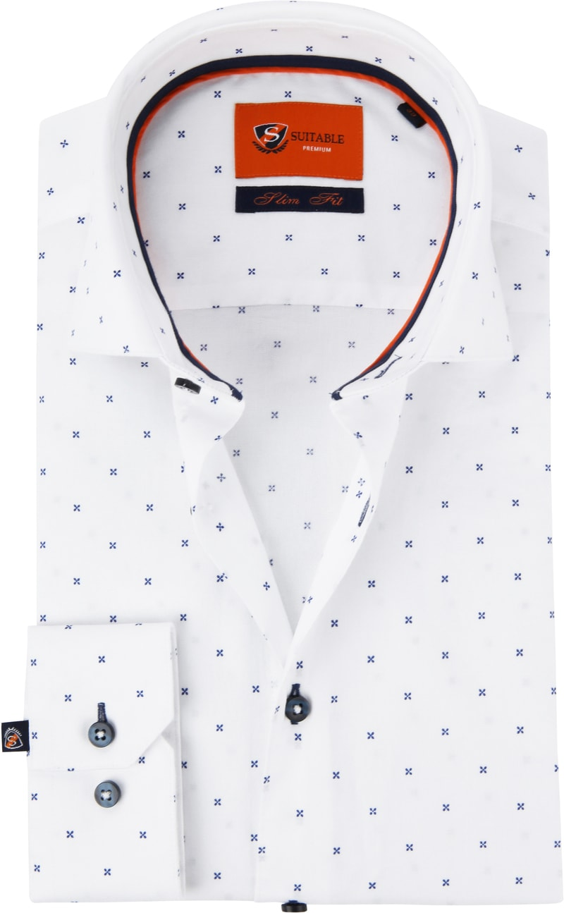 Suitable Shirt WS Cross White photo 0