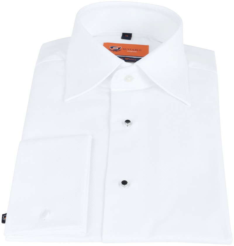 Suitable Smoking Overhemd Slim-Fit foto 2