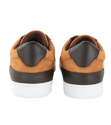 Suitable Sneaker Cognac Nubuck foto 2
