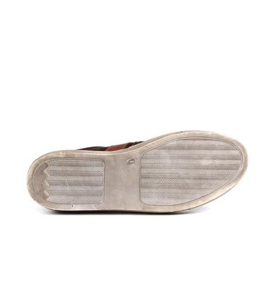 Suitable Sneaker Croco Bruin foto 7