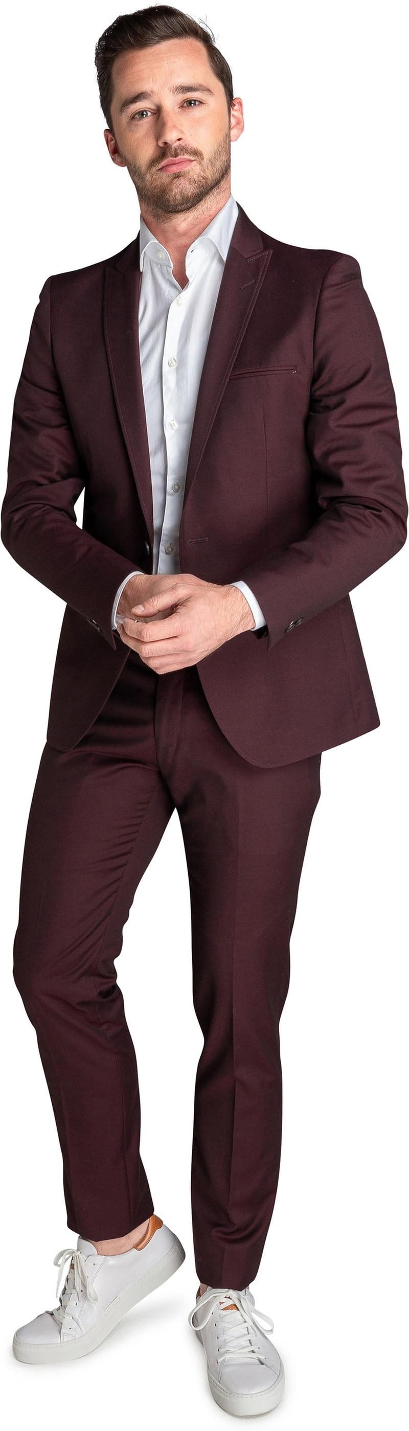 Suitable Sneaker Suit Bordeaux Foto 0