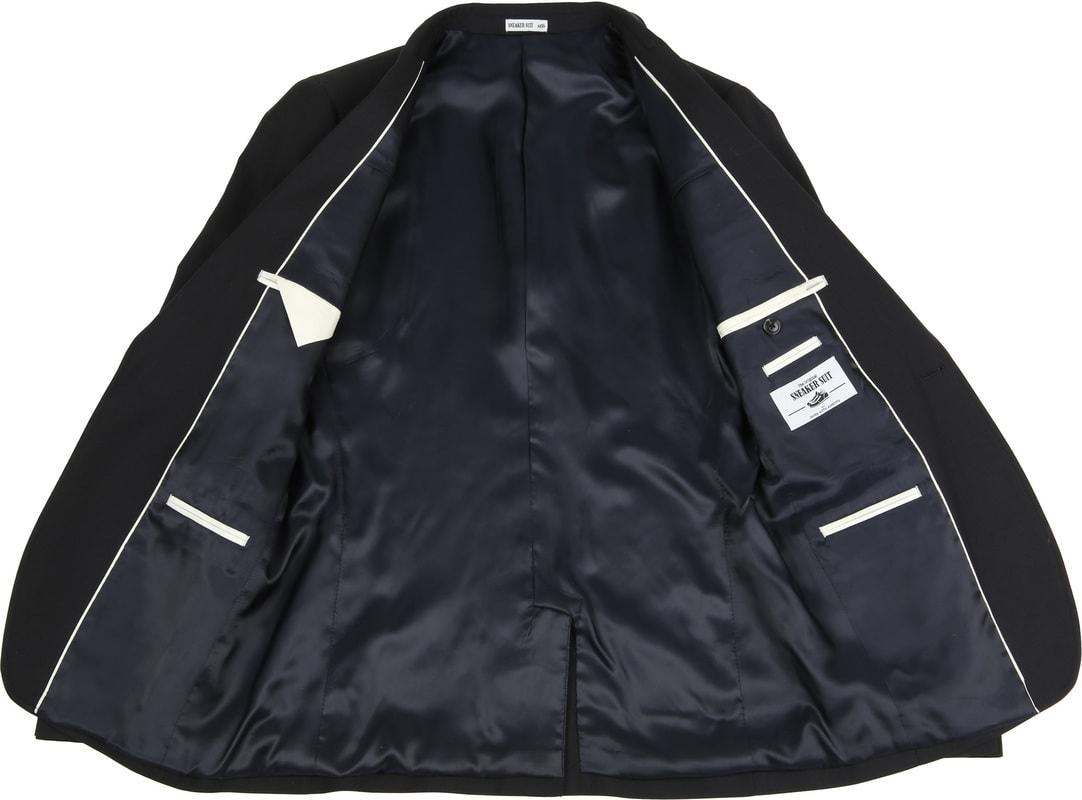 Suitable Sneaker Suit Zwart foto 5