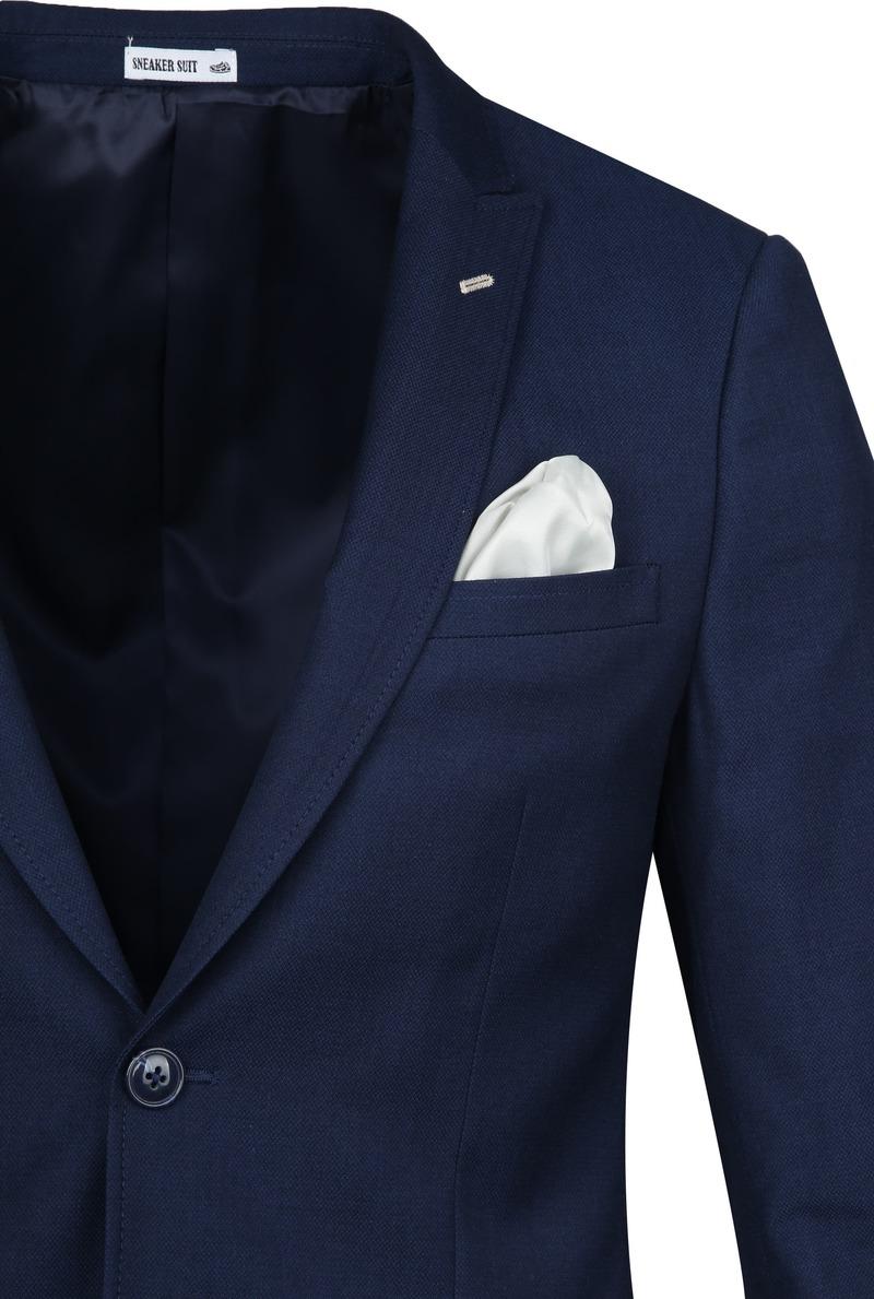Suitable Sneakersuit Middenblauw - Donkerblauw maat 94