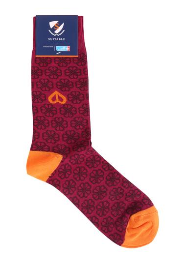 Suitable Socken KWF Fuchsia Foto 1