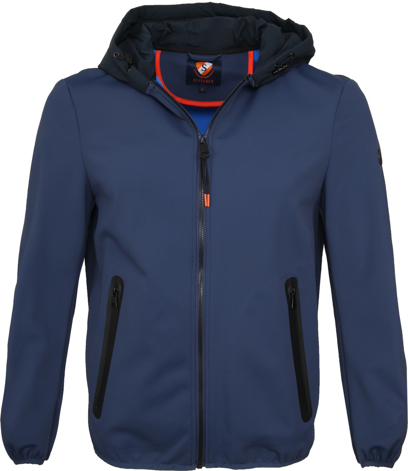 Suitable Softshell Jacke Tom Dunkelblau Foto 0