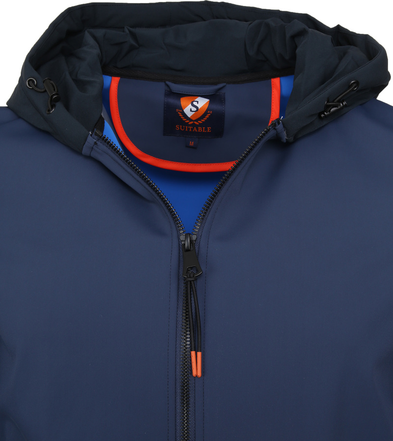 Suitable Softshell Jacke Tom Dunkelblau Foto 1