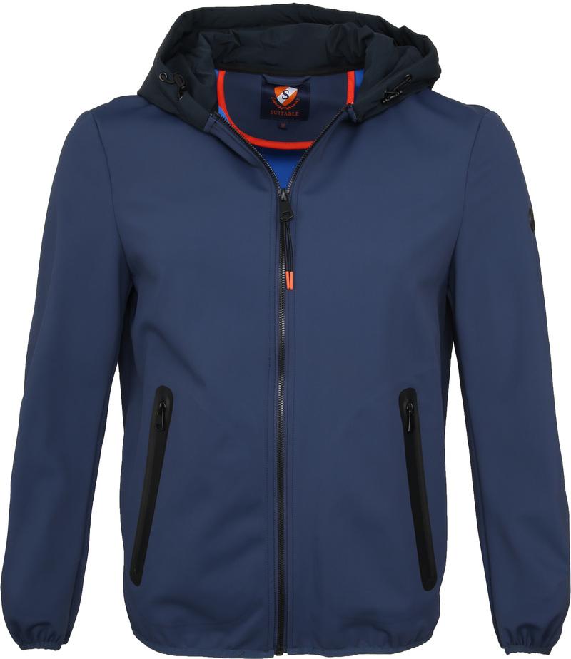 Suitable Softshell Jacket Tom Navy photo 0