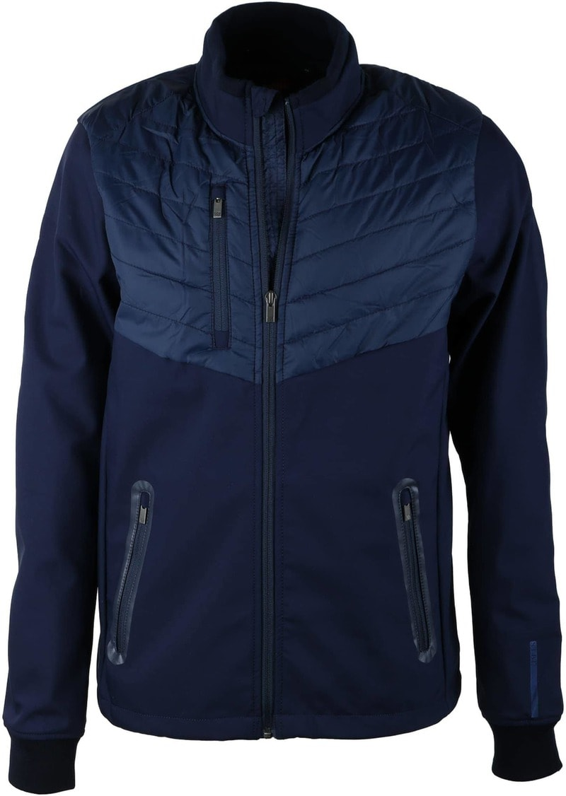 Suitable Softshell Spur Jacket Navy