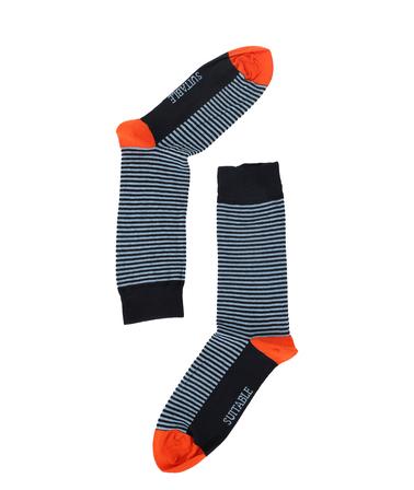 Detail Suitable Sokken Navy/Licht Blauw