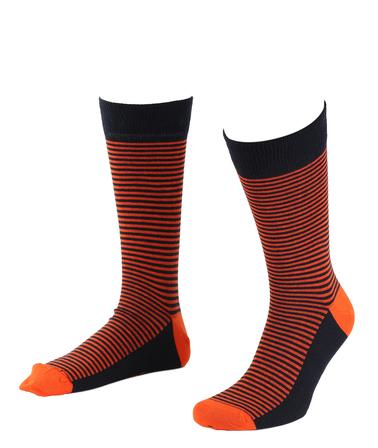 Suitable Sokken Navy/Oranje  online bestellen | Suitable