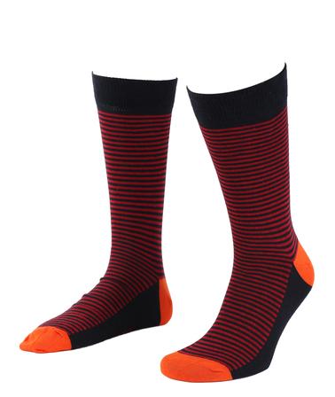 Suitable Sokken Navy/Rood  online bestellen | Suitable