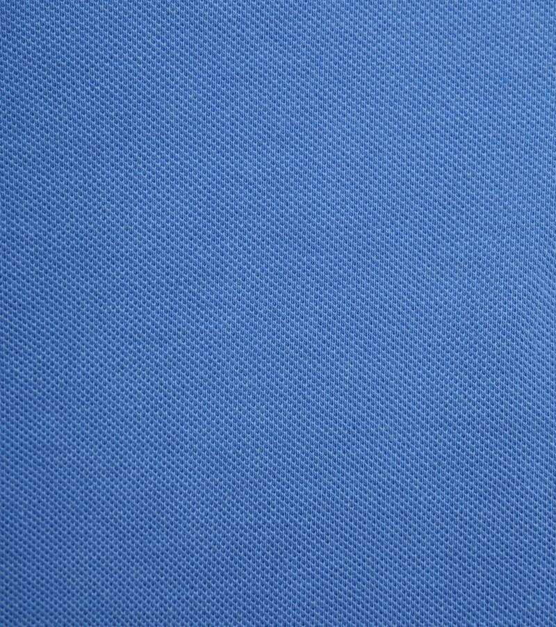 Suitable Stone Wash Polo Blauw foto 2