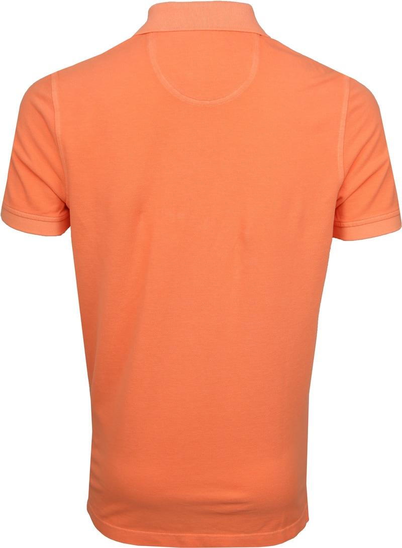 Suitable Stone Wash Poloshirt Orange Foto 3