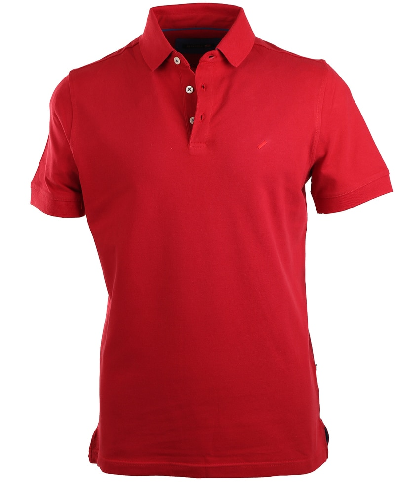 Suitable Stretch Polo Rood  online bestellen | Suitable