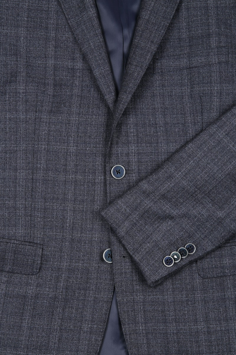 Suitable Suit Strato Windowpane Grey photo 1
