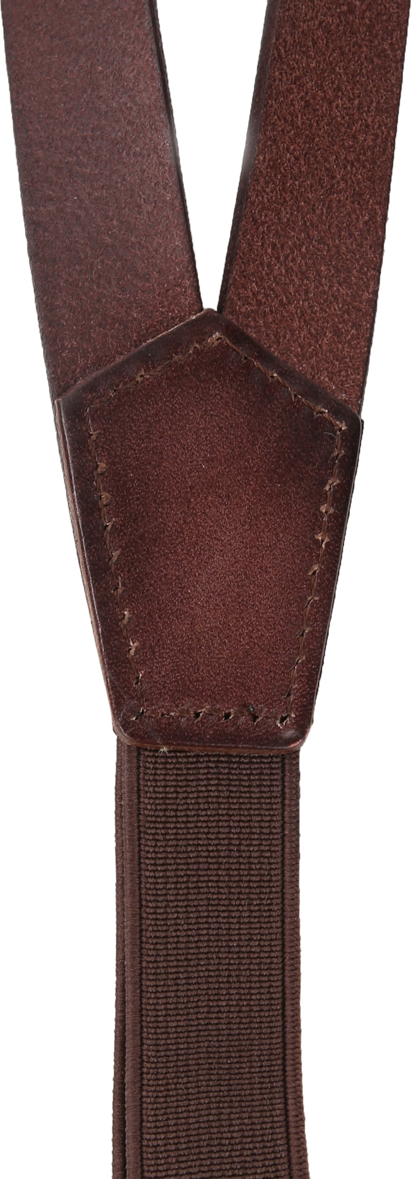 Suitable Suspenders Brown Leather photo 2