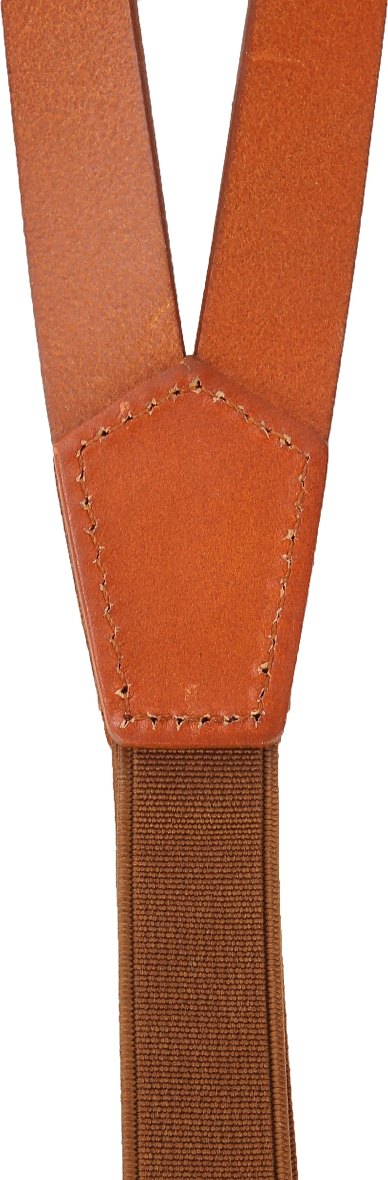 Suitable Suspenders Cognac Leather photo 2