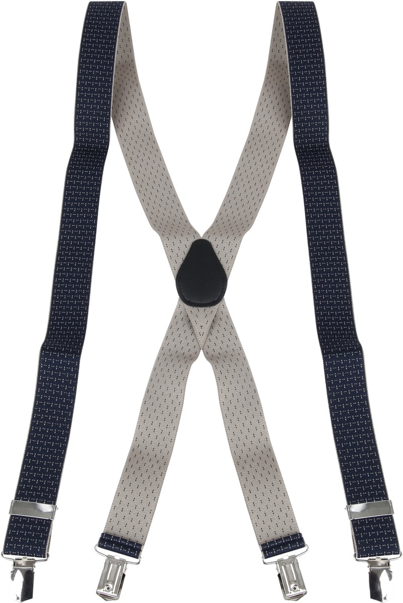 Suitable Suspenders Navy Dessin photo 1