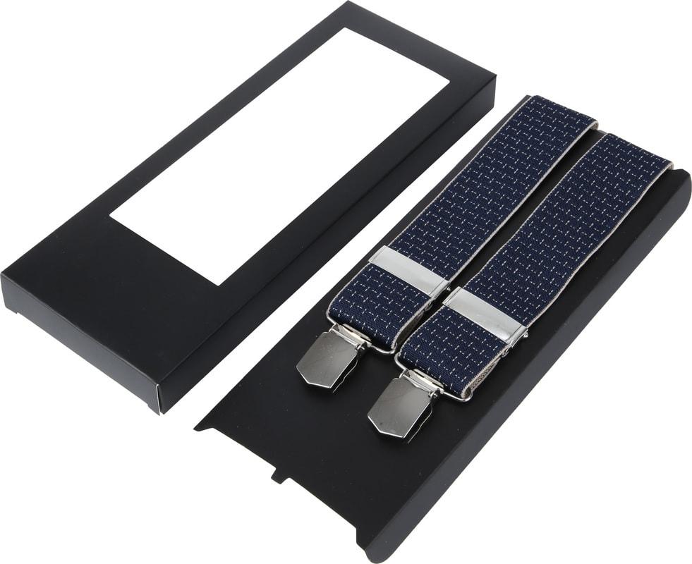 Suitable Suspenders Navy Dessin photo 2