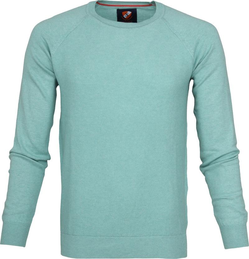 Suitable Sweater Ben Sea Green Foto 0