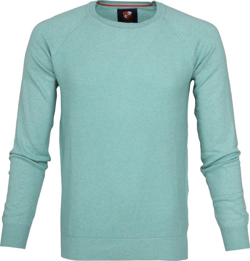 Suitable Sweater Ben Sea Green photo 0