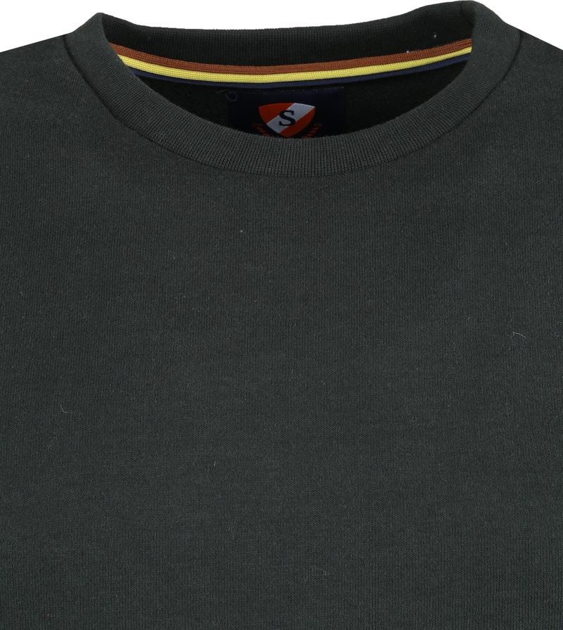 Suitable Sweater Sven Donkergroen foto 1