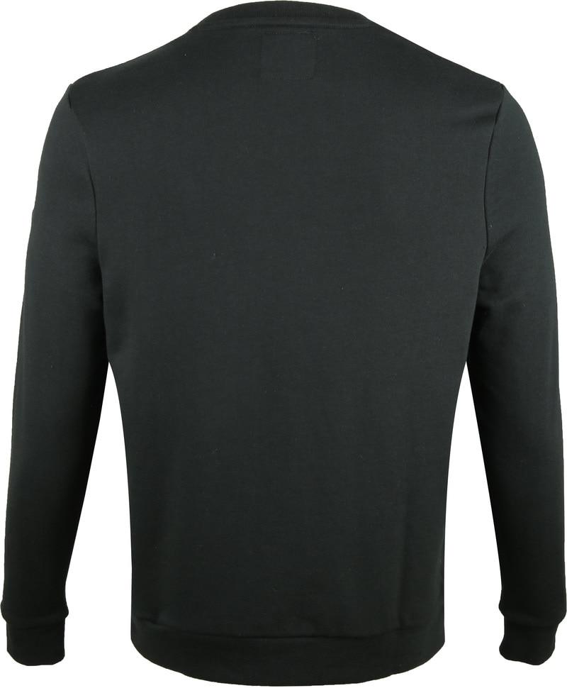 Suitable Sweater Sven Donkergroen foto 4
