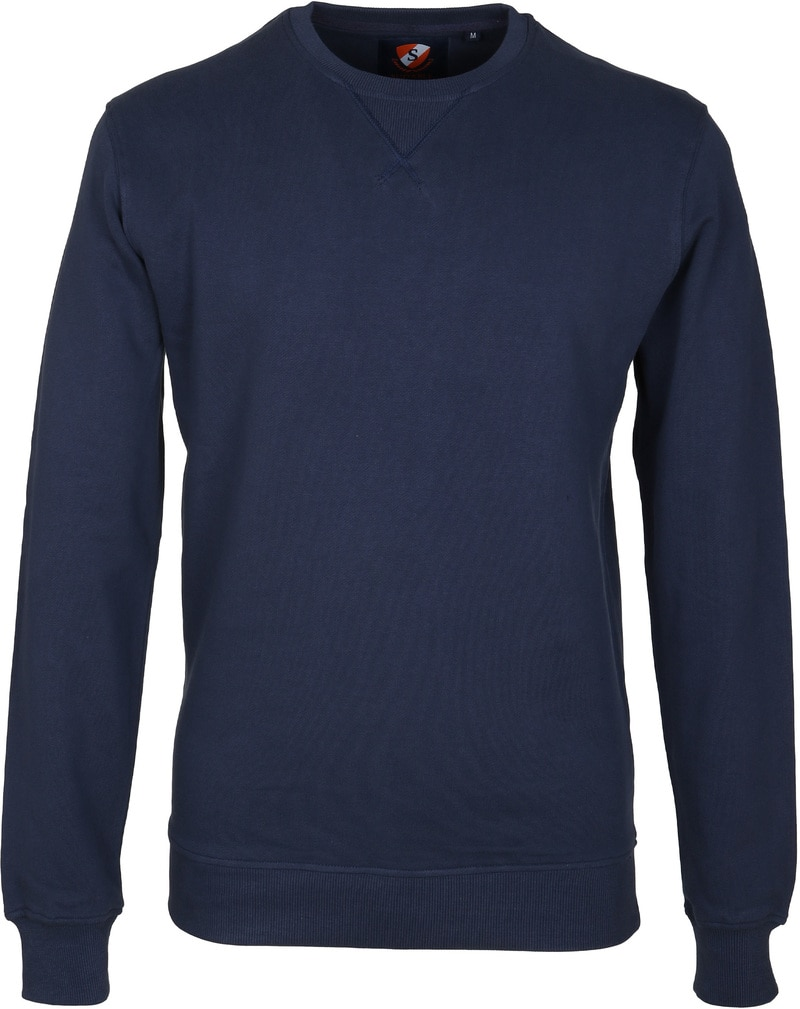 Detail Suitable Sweater Uni Navy