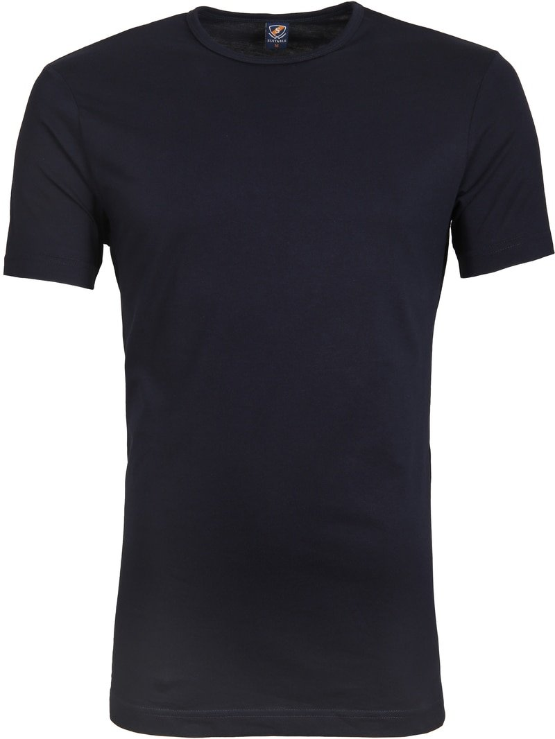 Suitable T-shirt 2-Pack O-Neck Navy photo 2