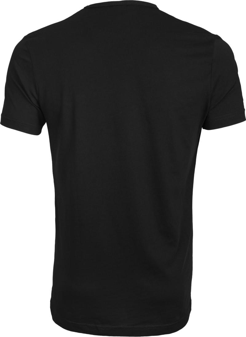 Suitable T-shirt 2-Pack O-Neck Zwart foto 3