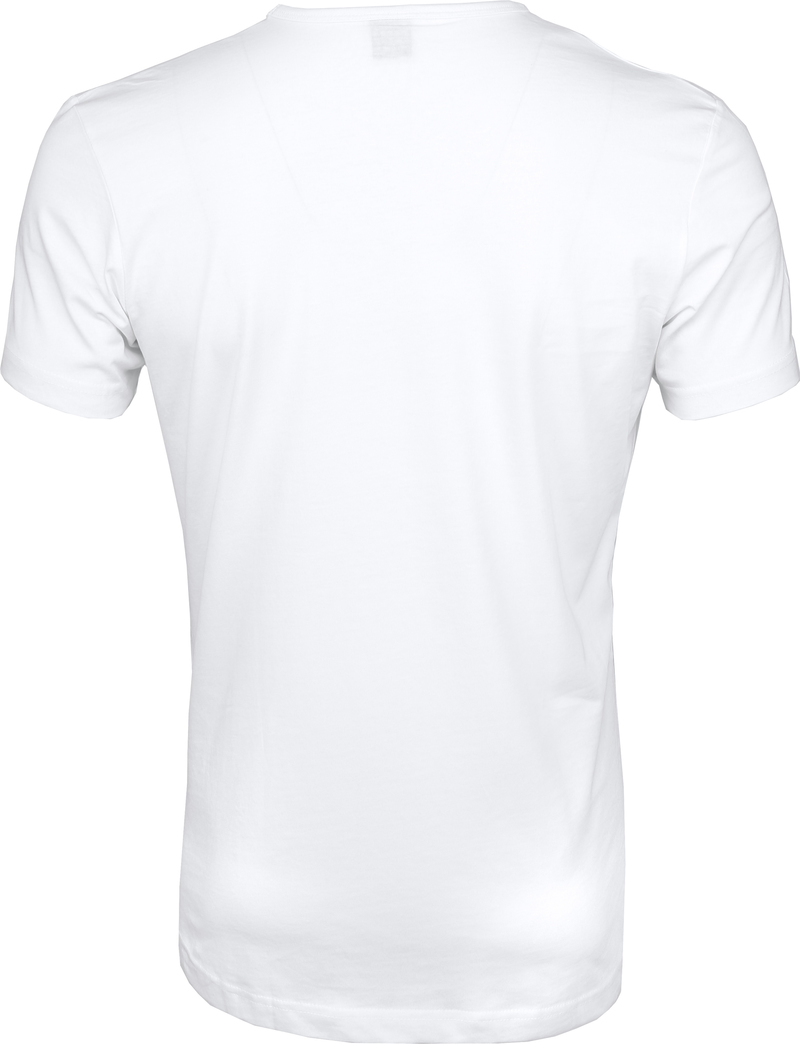 Suitable T-shirt 2er Pack O-Hals Weiß Foto 4
