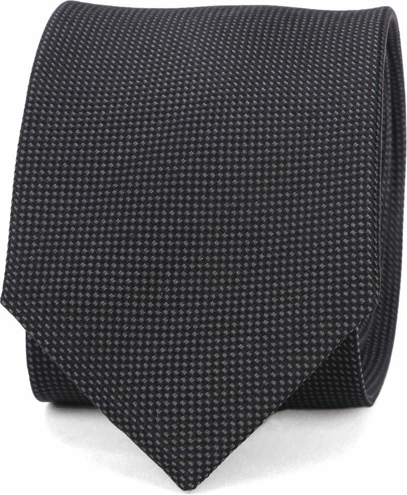 Suitable Tie Silk Black 10 photo 0