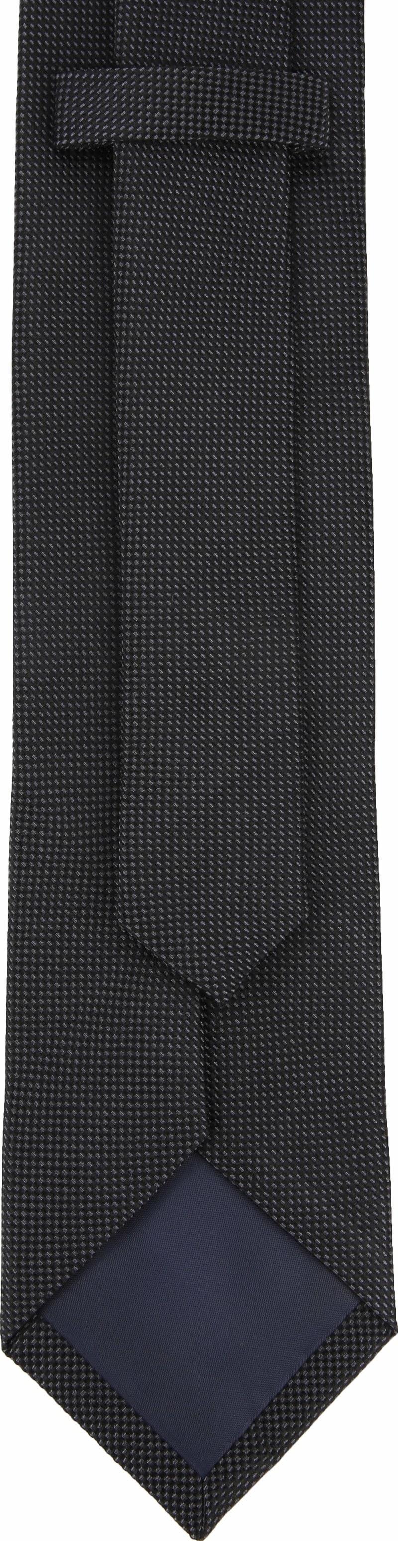 Suitable Tie Silk Black 10 photo 2