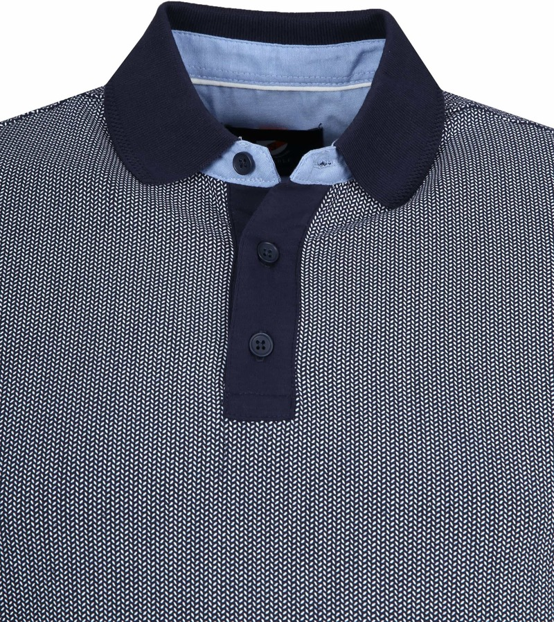 Suitable Till Poloshirt Dark Blue photo 1