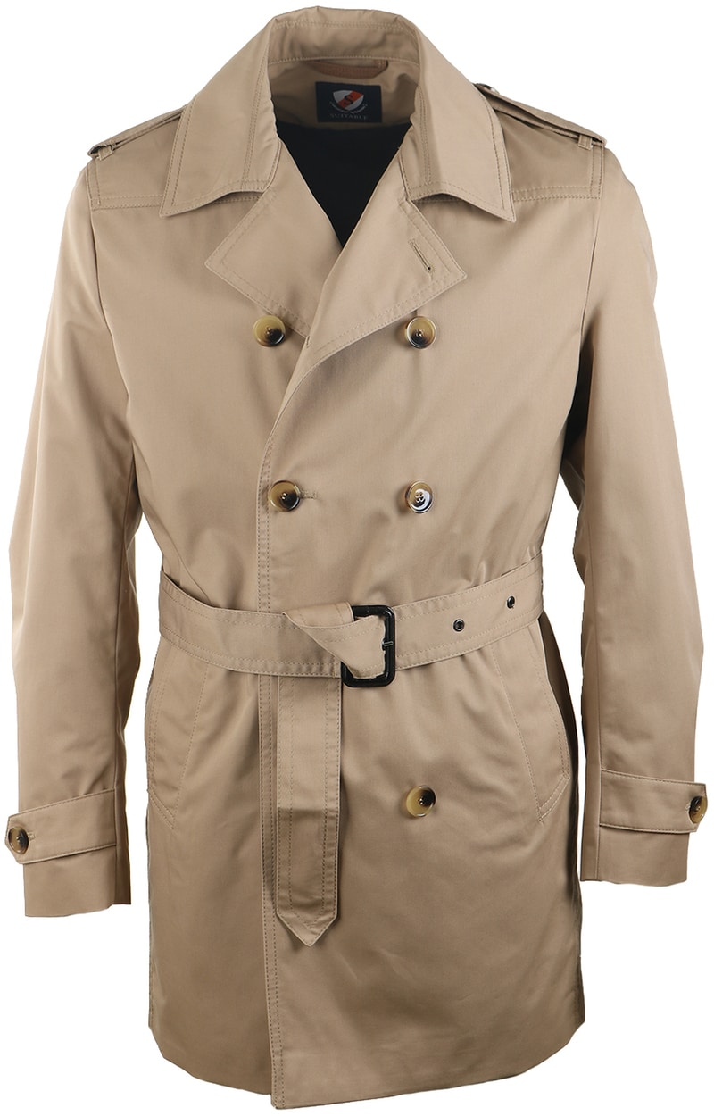 Suitable Trenchcoat Khaki Zavier  online bestellen | Suitable