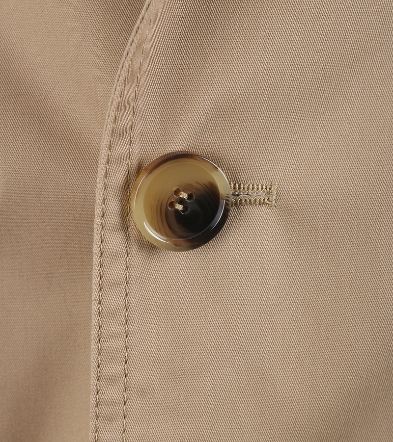 Detail Suitable Trenchcoat Khaki Zavier