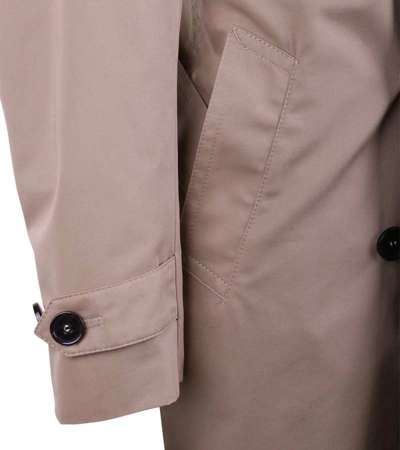 Suitable Trenchcoat Sommer Jacke Khaki Zavier