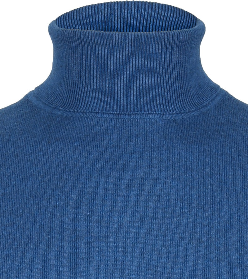 Suitable Turtleneck Petrol Blue photo 1