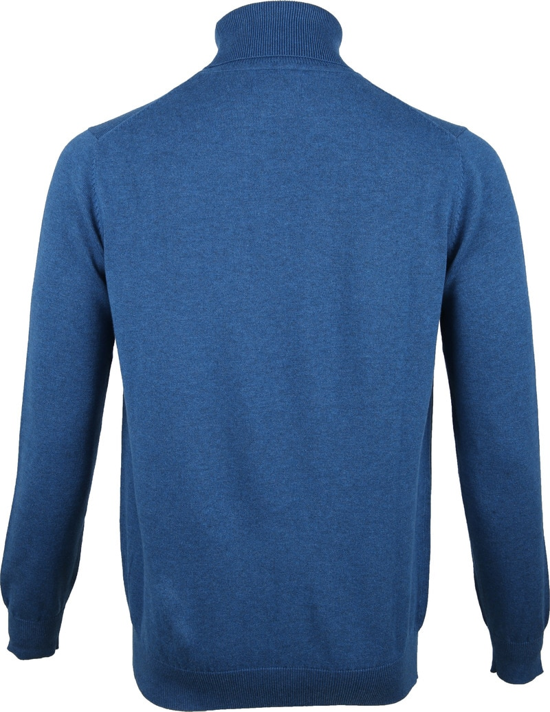 Suitable Turtleneck Petrol Blue photo 2
