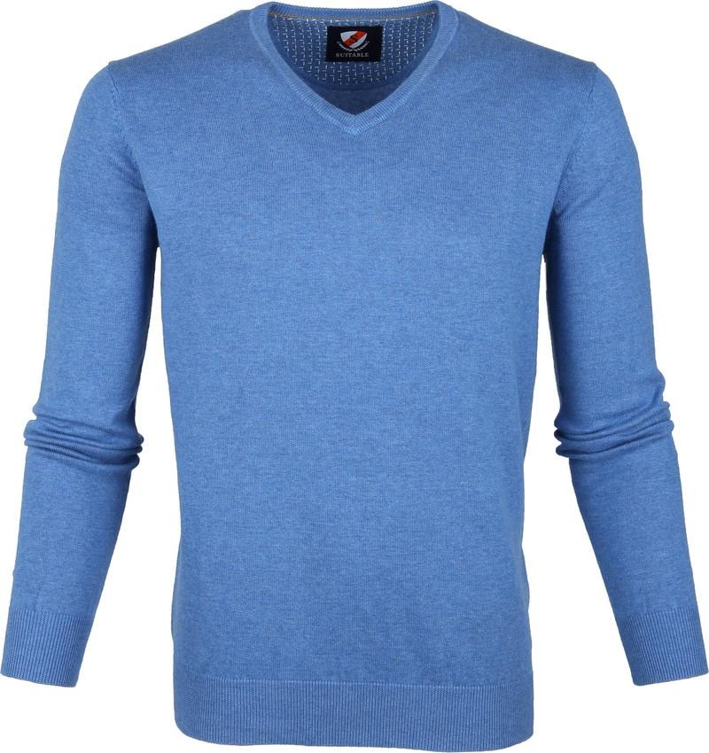 Suitable Vini Pullover Blue photo 0