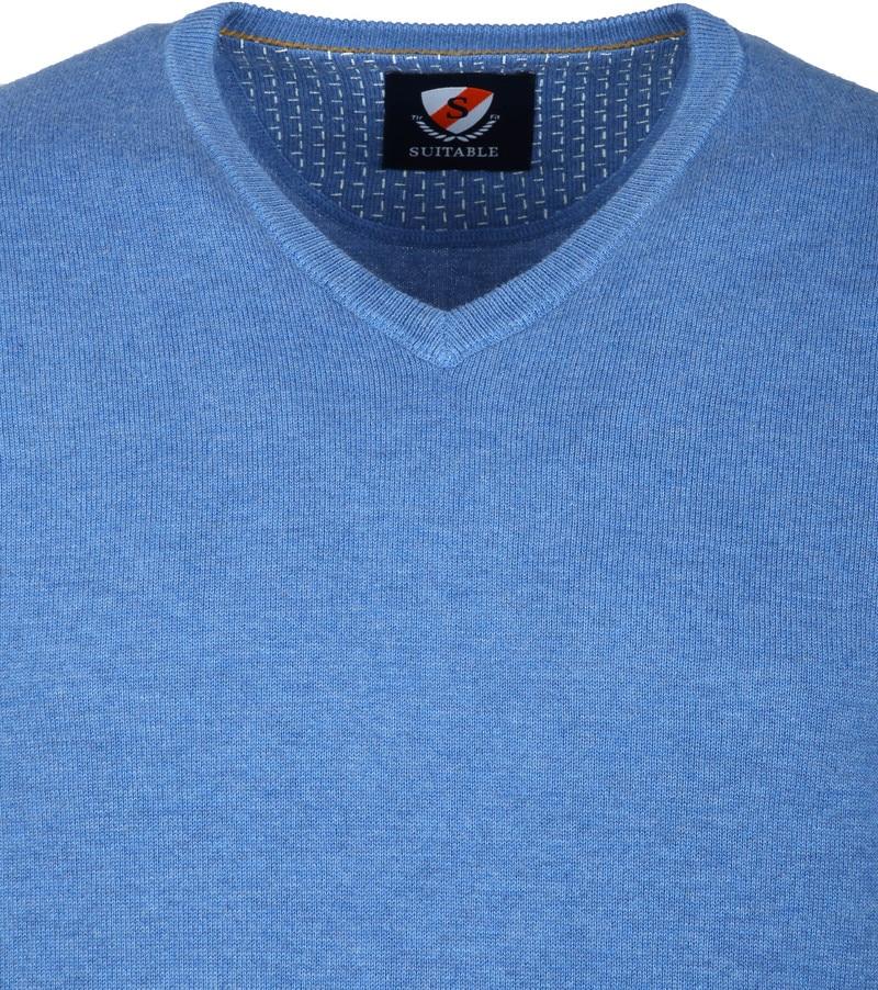 Suitable Vini Pullover Blue photo 1