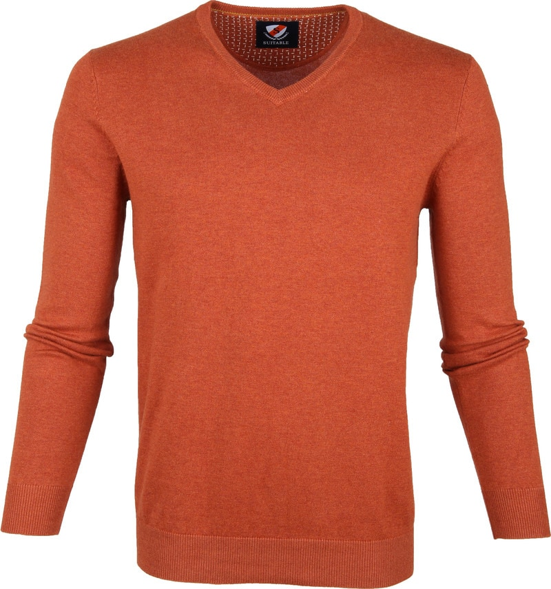 Suitable Vini Pullover Brique photo 0