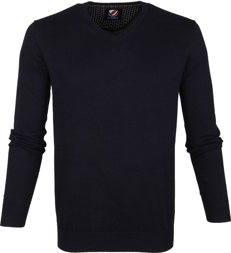 Suitable Vini Pullover Navy photo 0