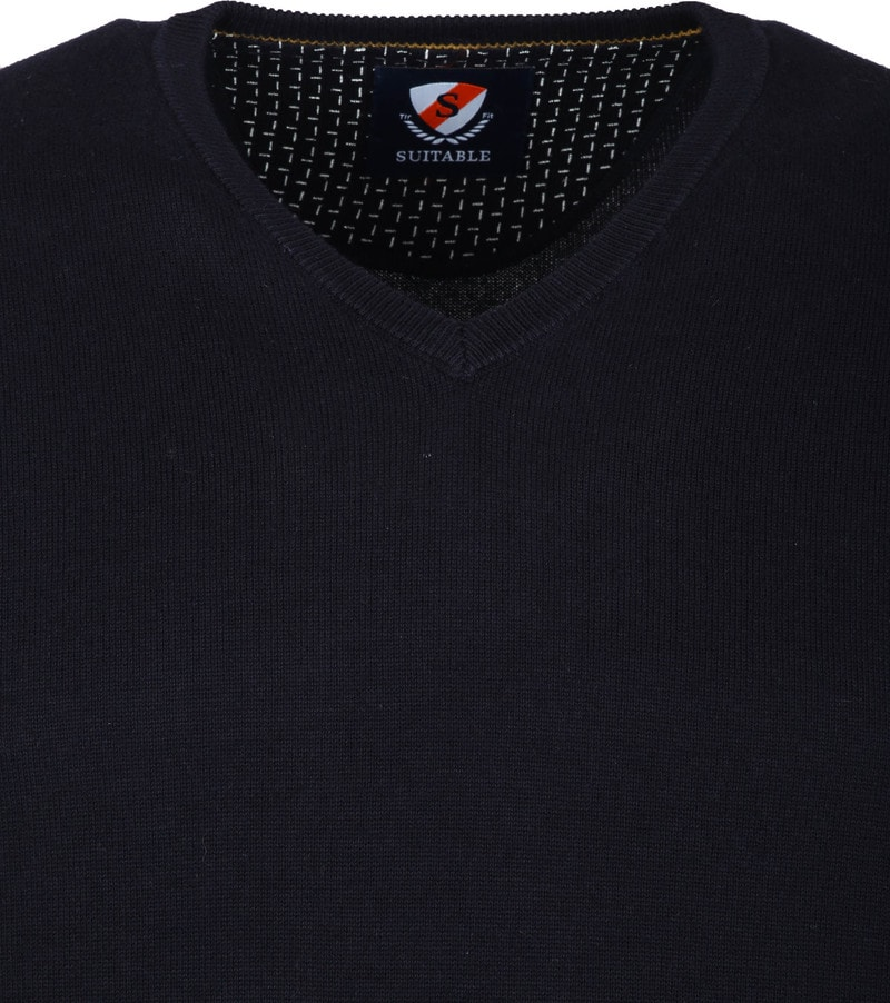 Suitable Vini Pullover Navy photo 1