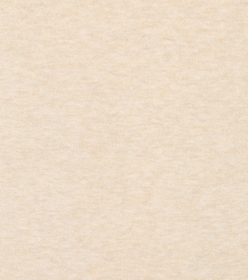 Suitable Vini Pullover V-Hals Beige - Beige maat 4XL