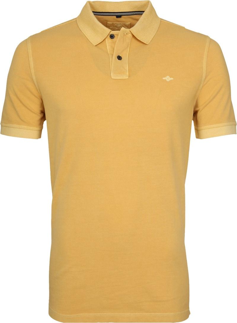 Suitable Vintage Poloshirt Geel foto 0